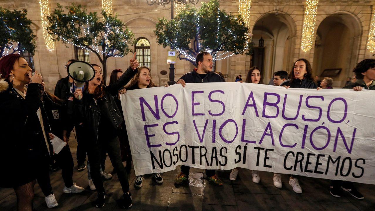 Abusos no, agresiones.José Ángel Prenda, miembro de la Manada