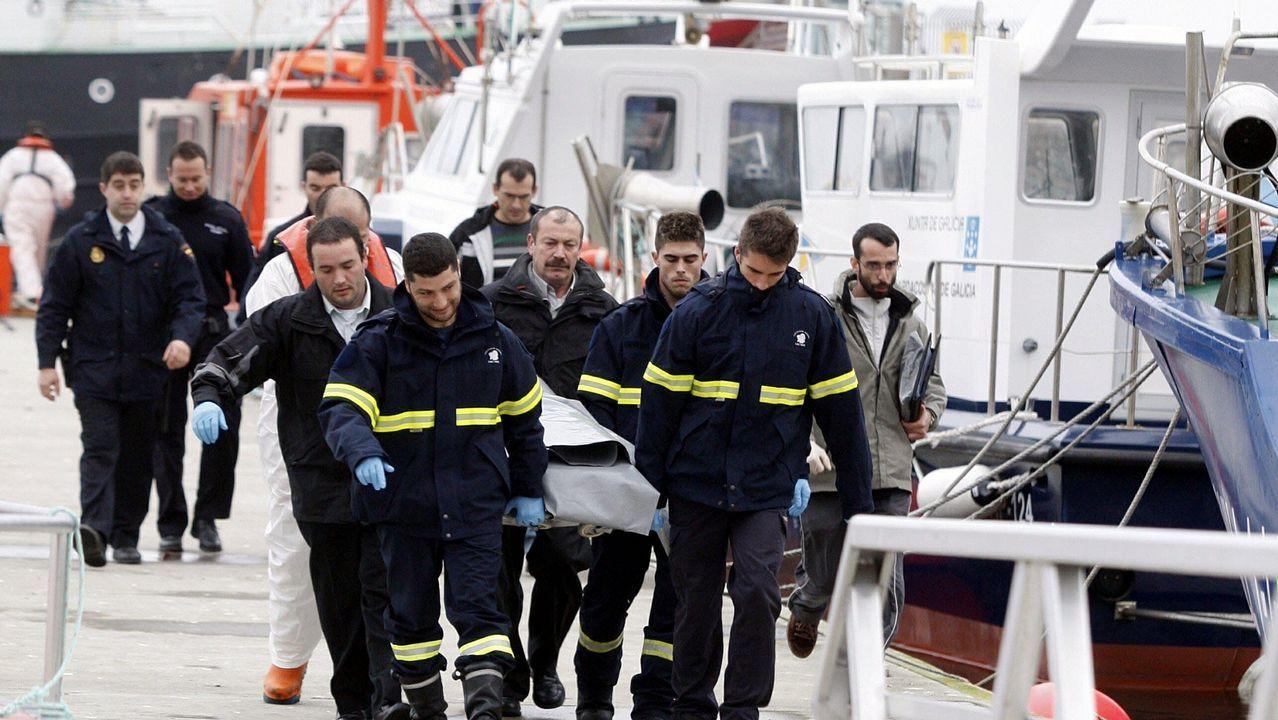 Registro en la nave en la que apareció el cuerpo de Diana Quer a finales del 2017