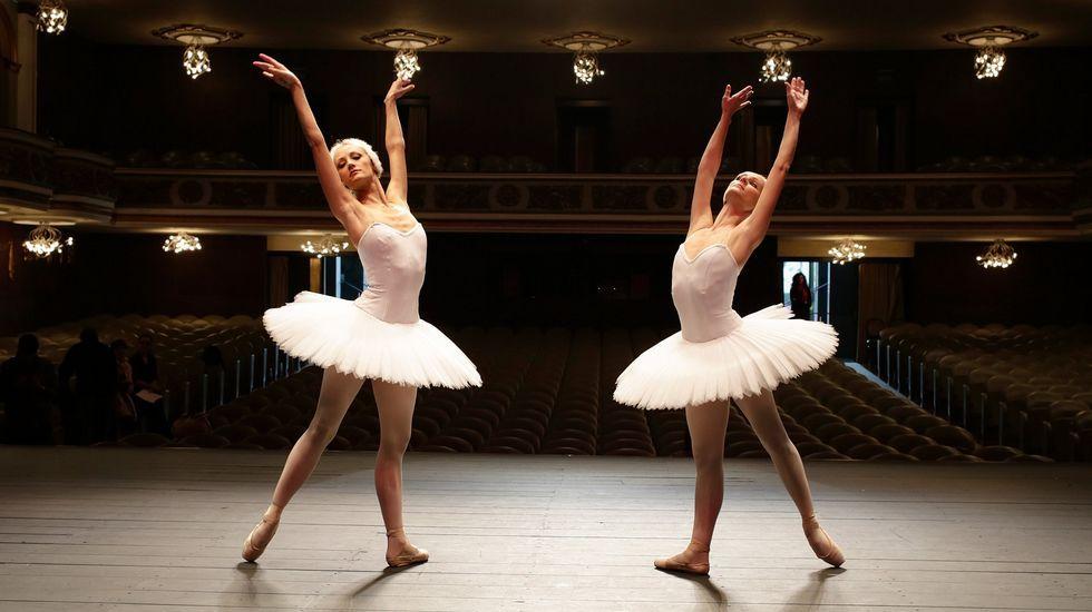 Rusia celebra el Día de la Victoria.Los bailarines representarán la obra clásica de Tchaikovsky.