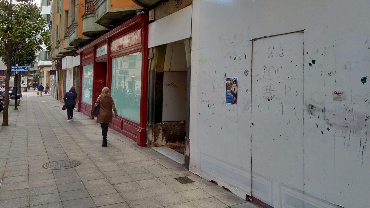 Futuro local de Zara en Oviedo