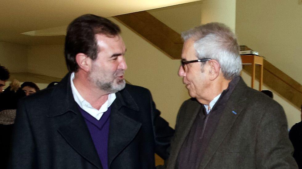 Touriño y Quintana, reencuentro en Santiago