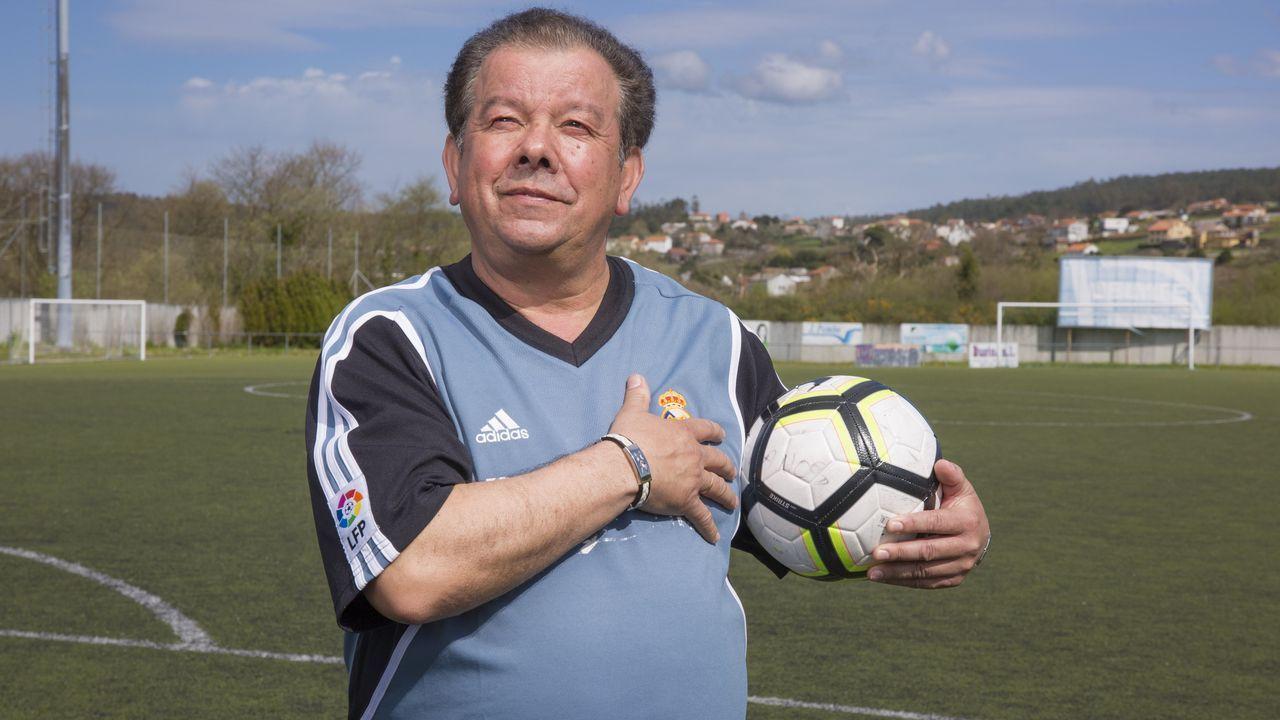 «A miña muller chegoume a dicir que escollera entre ela e o fútbol»