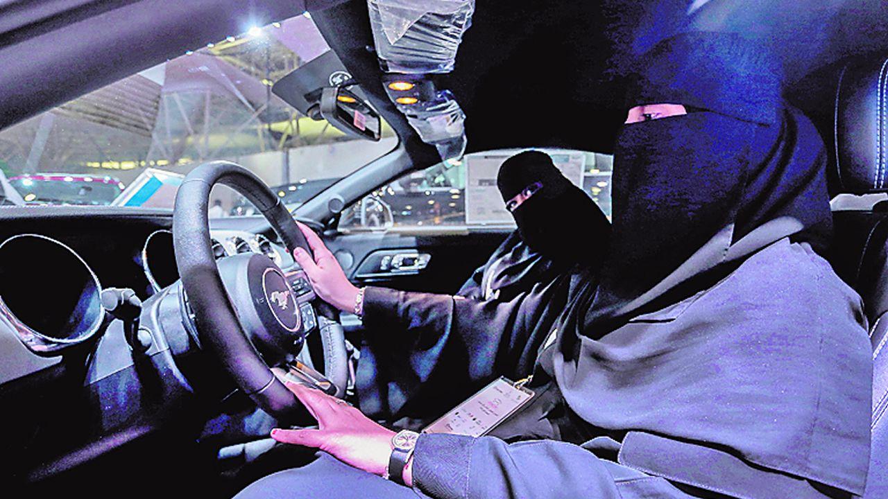 Día histórico para las mujeres en Arabia Saudi