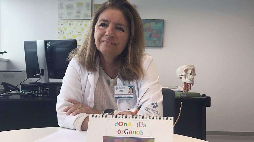 Dolores Escudero es la coordinadora autonómica de la Unidad de Trasplantes de Asturias.Dolores Escudero es la coordinadora autonómica de la Unidad de Trasplantes de Asturias