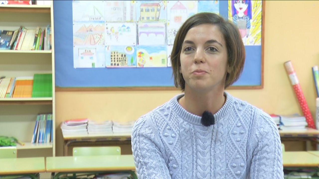 Rocío Balseiro, profesora dende o 2017