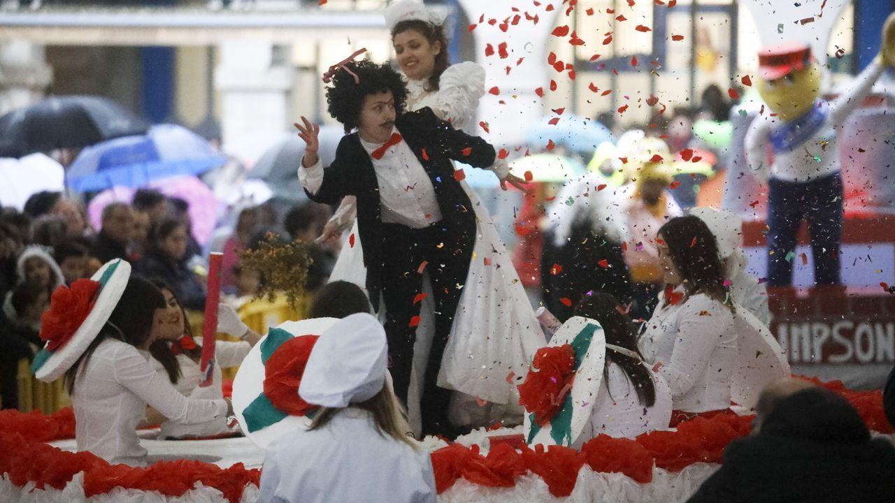 Carnaval de Lugo.Isabel Carrera, directora del máster de Igualdad de la Universidad de Oviedo