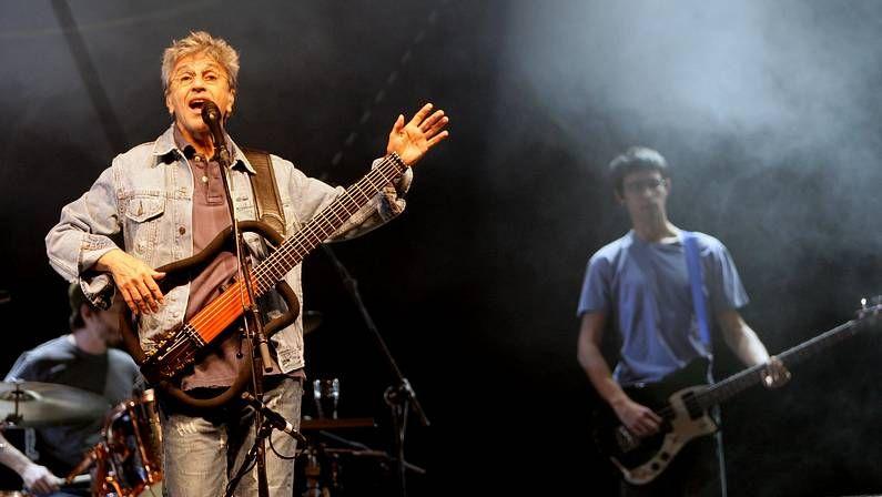 Caetano Veloso en un concierto en A Coruña en el 2007