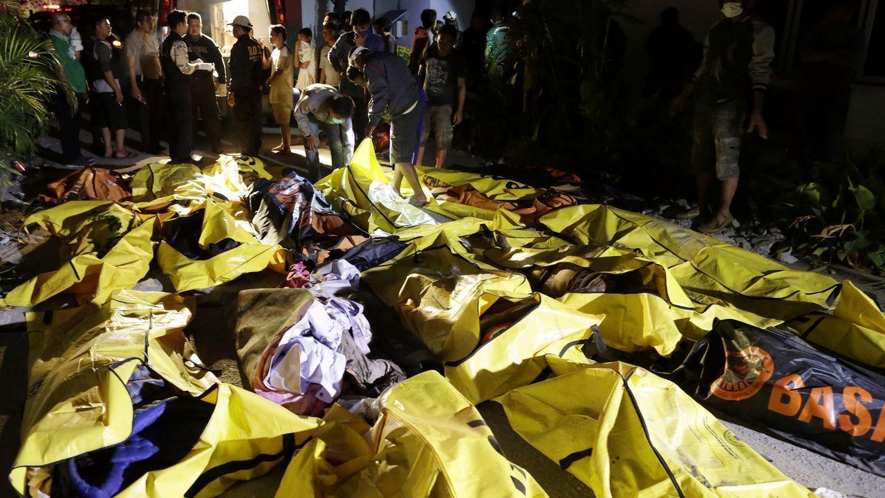 La devastación en Indonesia, desde el aire