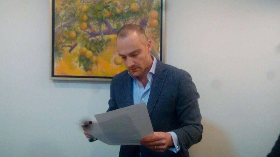 Carmen Rodríguez Maniega, presidenta del PP Avilés.Pablo Álvarez Pichel