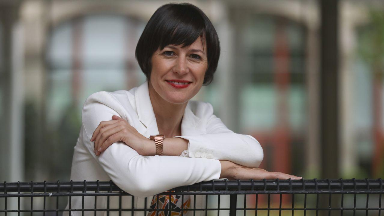 A voceira nacional do BNG, Ana Pontón