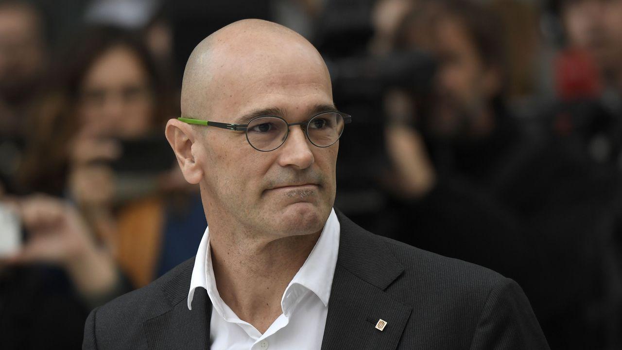 .El exconseller de Asuntos Internacionales Raül Romeva, de ERC, ingresará en la cárcel de Estremera