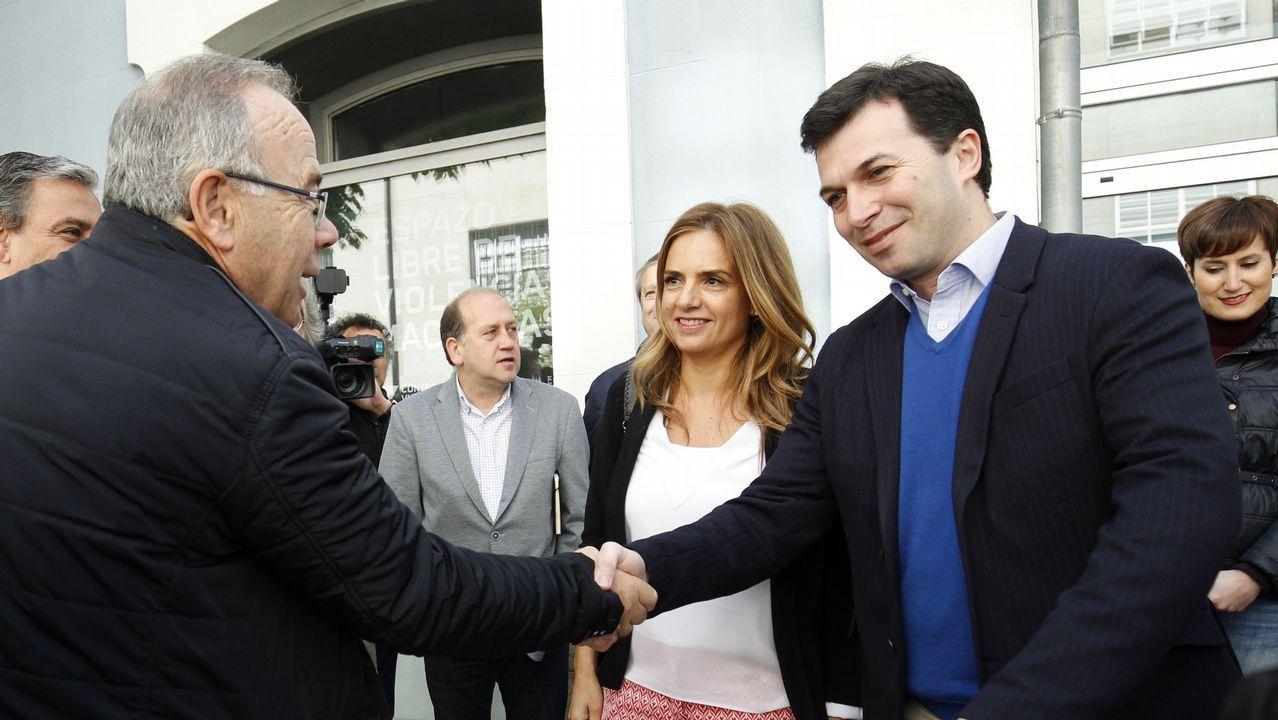 .Gonzalo Caballero, en la jornada de politica municipal del PSdeG