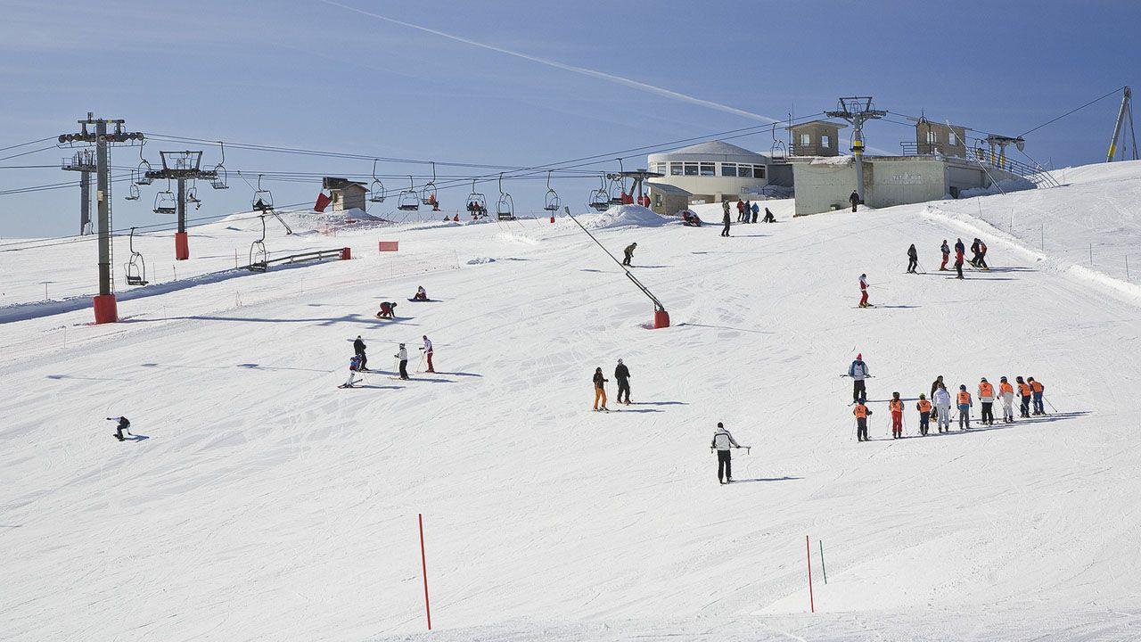 Aldeas y apartamentos rurales en Asturias.Estación de esquí Valgrande-Pajares