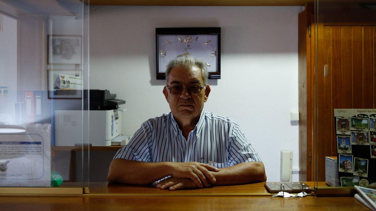 Un año sin Diana Quer: «Pudo haber sido en cualquier sitio».Nelson Quintas, propietario de un hotel en Figueiró dos Vinhos