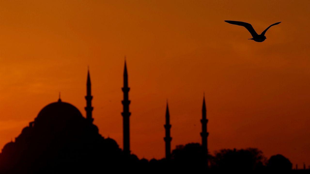.Puesta de sol en Estambul