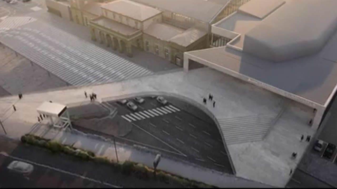 Presentada la intermodal de Santiago: así se transformará la zona.En el valle del río Pambre, en Sambreixo, entre el castillo y O Careón, se construirá el viaducto más largo de la provincia, de más de un kilómetro