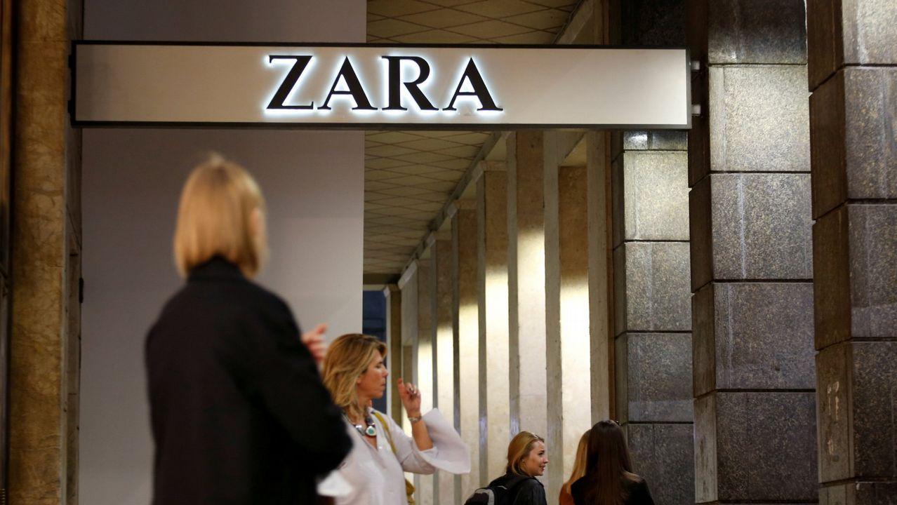 .Tienda de Zara en Milán