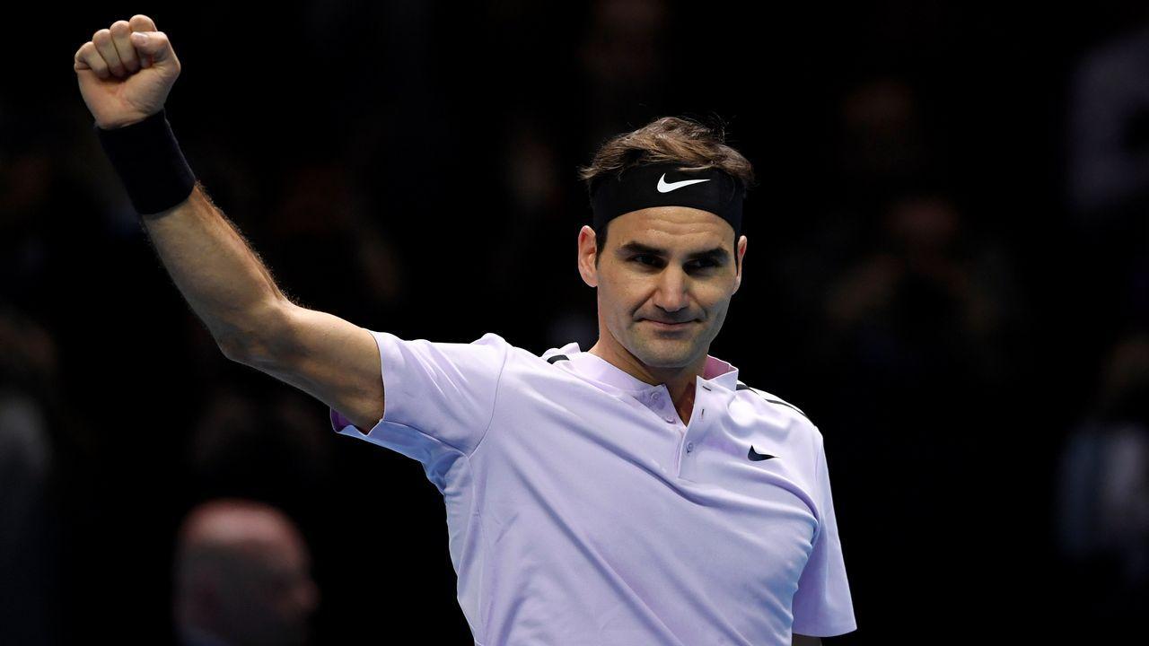 Pablo Carreño, en su partido ante Thiem en las Finales ATP