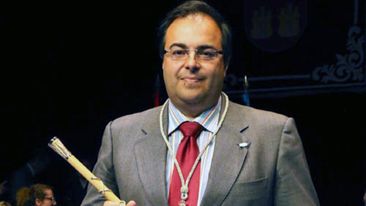 Santiago Llorente, alcalde de Leganés