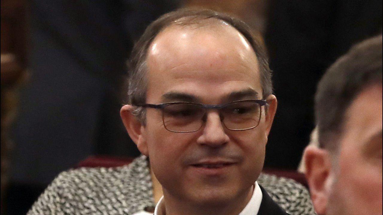 Jordi Turull. Exconsejero de Presidencia, está acusado de rebelión agravada con malversación.