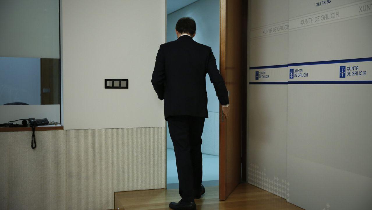 Montón dimite por las irregularidades de su máster.Mario Suárez del Fueyo