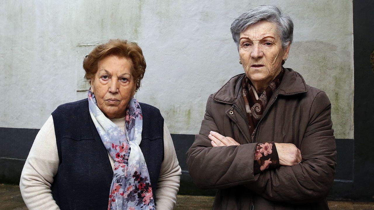 La comerciante ourensana Mónica Fernández ve negativa la subida de la cuota
