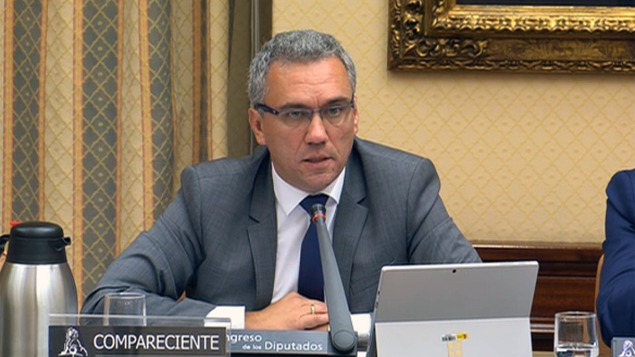 El secretario de Estado de Infraestructuras José Javier Izquierdo