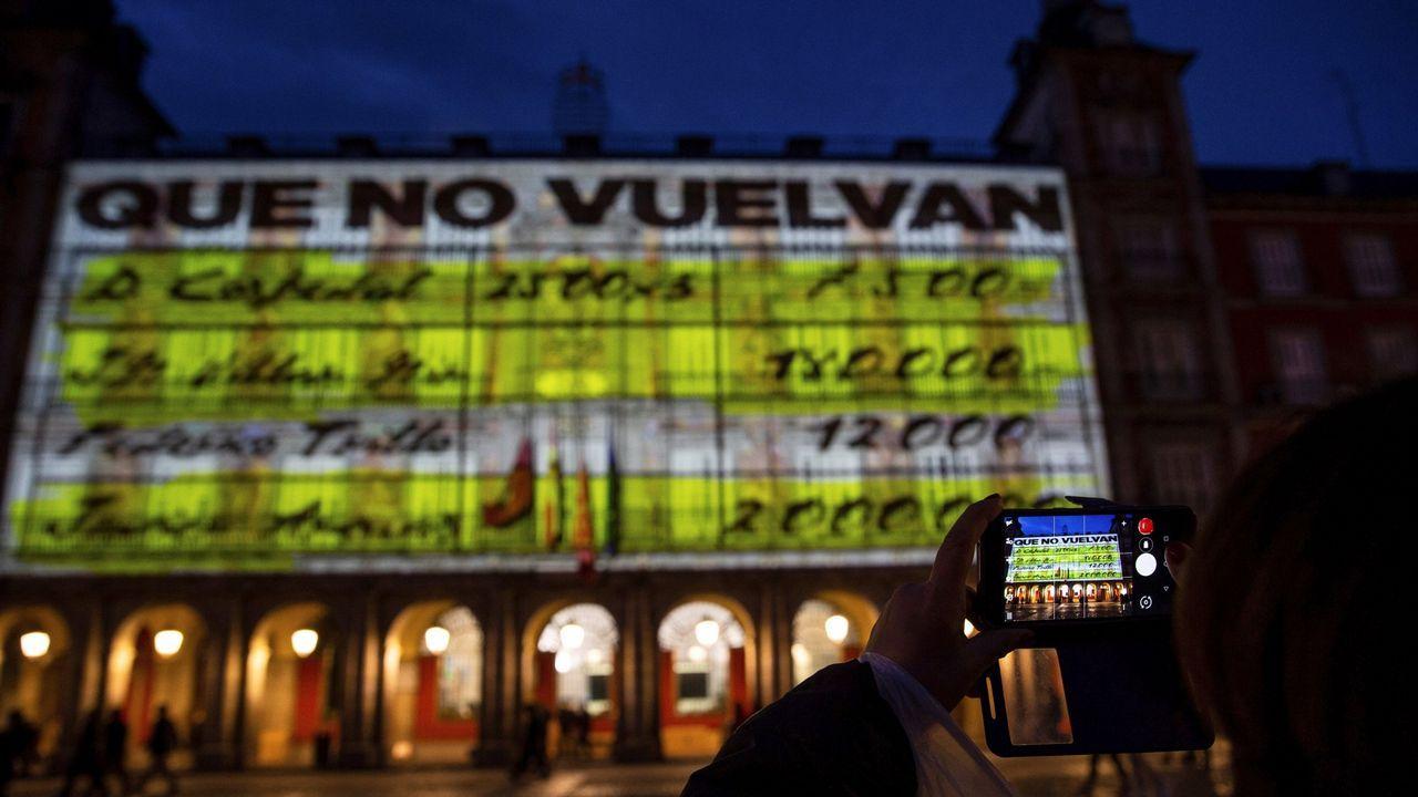 El último adiós a Rubalcaba, en imágenes.Ignacio Prendes