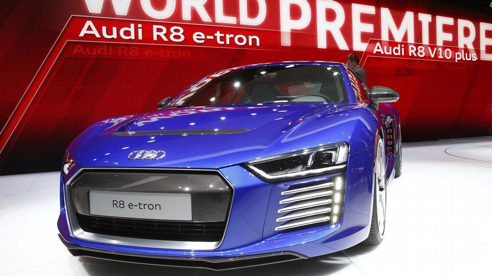 El Audio R8 e-tron, modelo eléctrico de la cada alemana.
