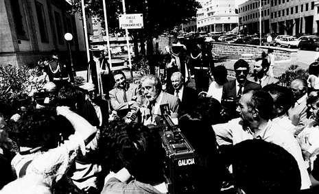 Adiós a uno de los mitos del Hollywood dorado.El 12 de agosto de 1992 era inaugurada en Cuatro Caminos la calle a la que da nombre el actor.