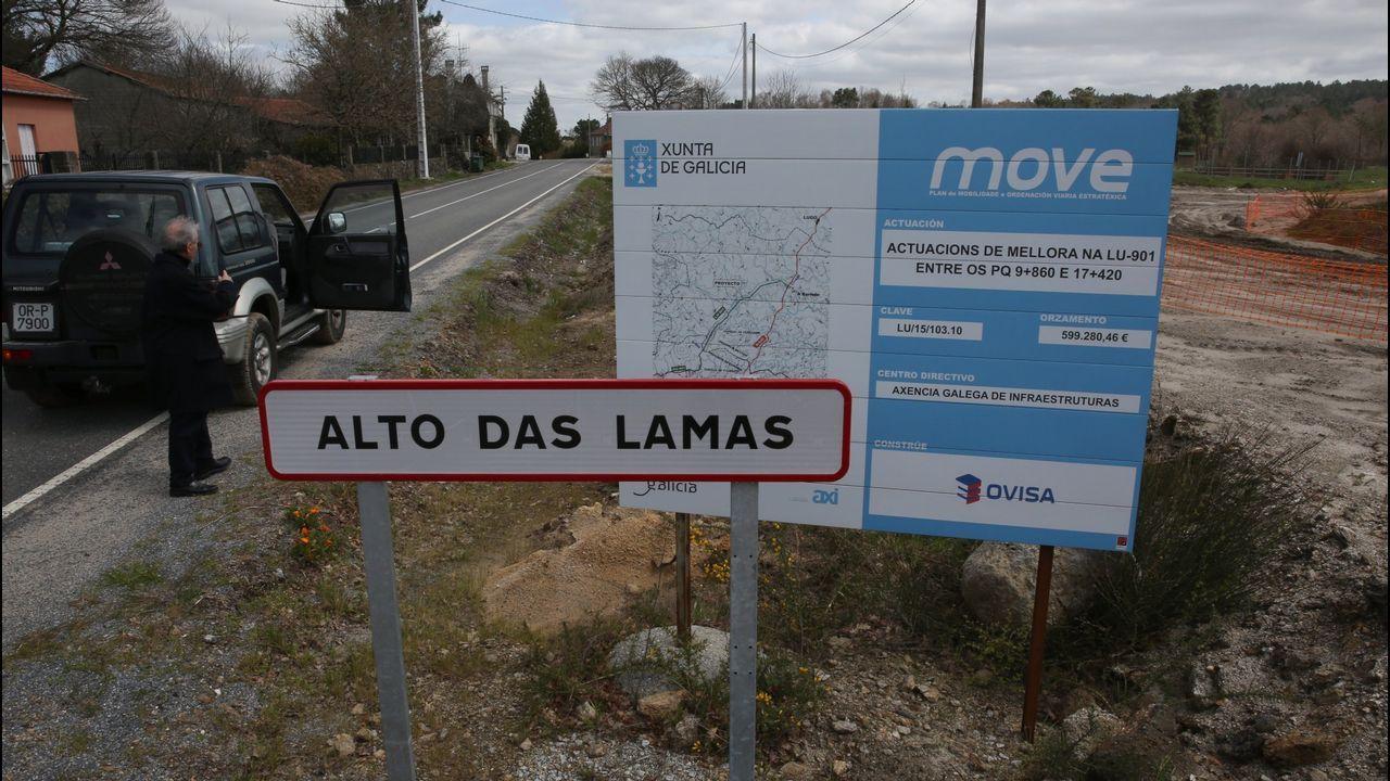 La carretera más peligrosa de España está en Ribadeo