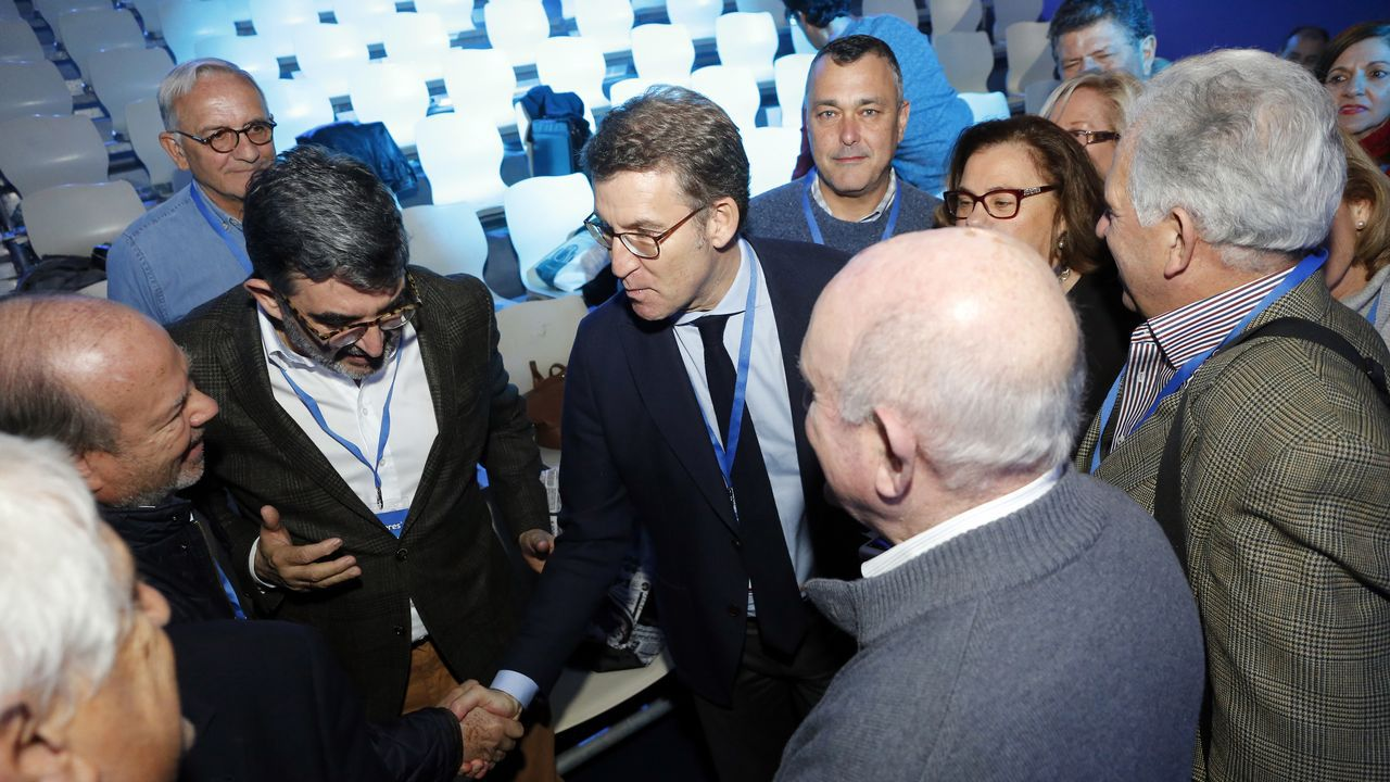 Los 160 integrantes de la delegación gallega la convierten en la más numerosa en la convención del PP