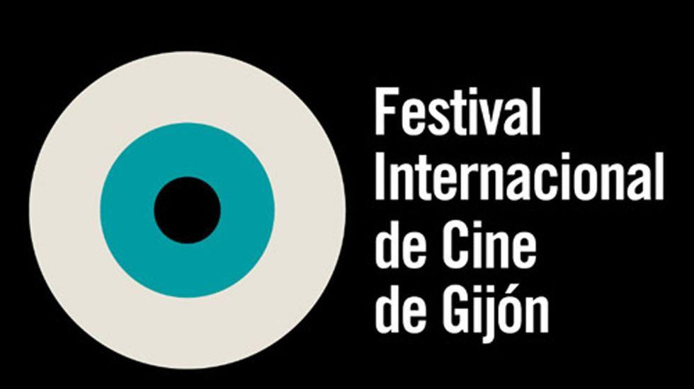 Reunión fundacional de la Academia del Cine Asturiano.Logo del Festival Internacional de Cine de Gijón