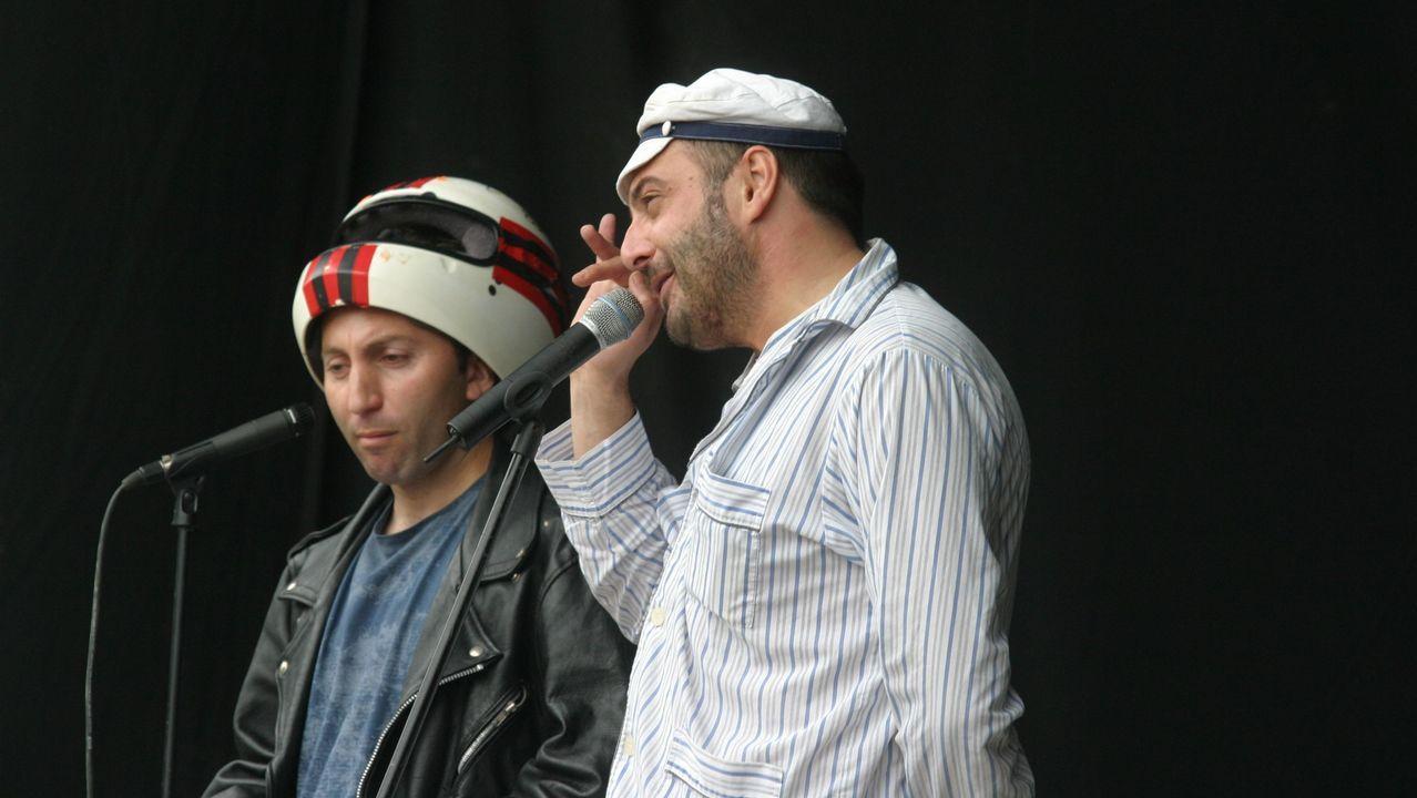 El dúo cómico de Os Tonechos
