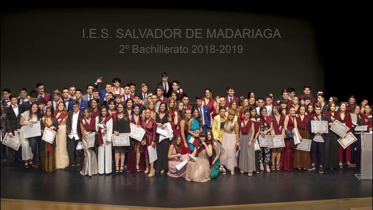 Los graduados coruñeses del 2019