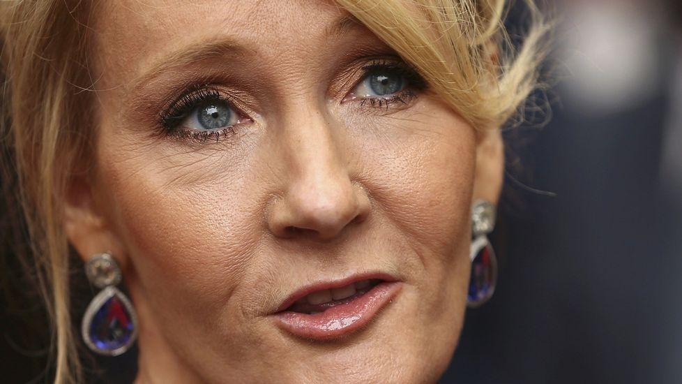 Y J. K. Rowling se dejó 'caer' por Candeán.Saint Clementine