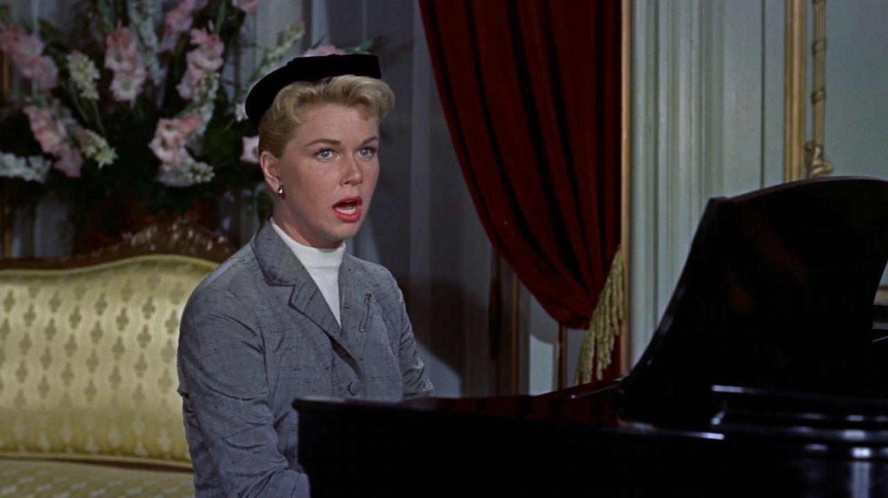Los diez clasificados de la primera semifinal.Doris Day, en «El hombre que sabía demasiado», de Hitchcock