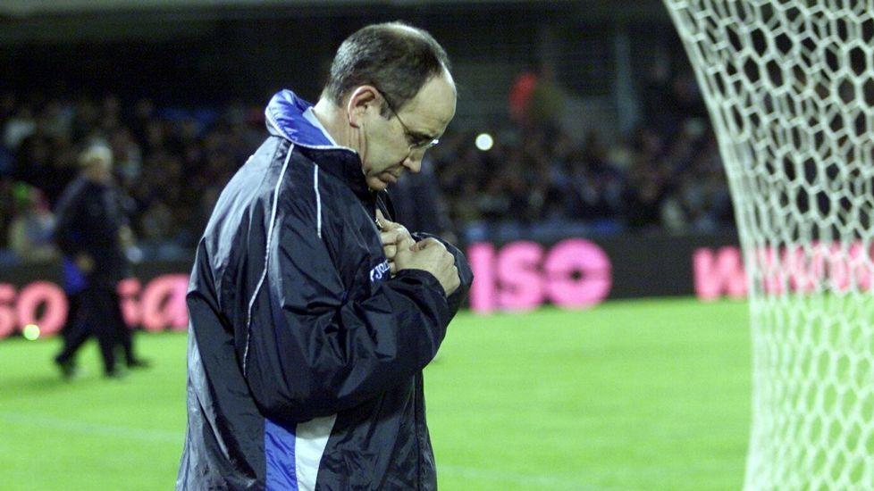 Irureta, entrenador del Dépor.