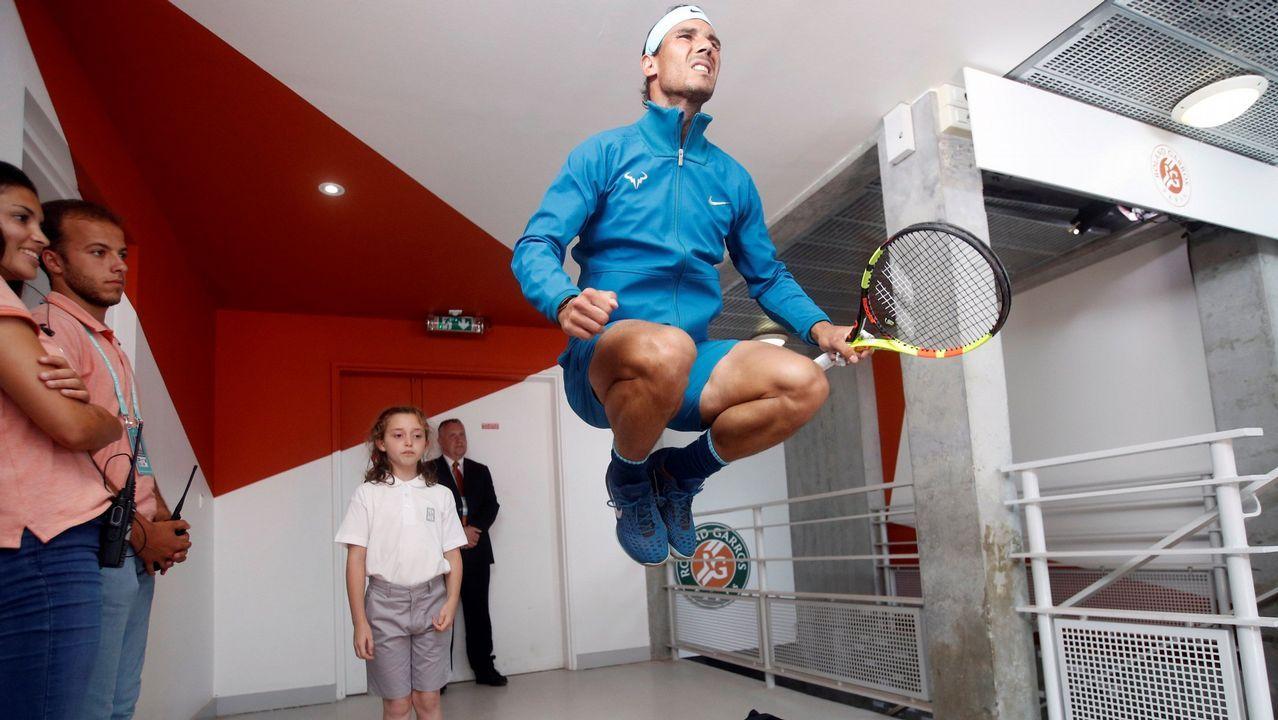 Los once Roland Garros de Nadal, en imágenes.Fotografía facilitada por Toyota Gazoo Racing, del piloto español Fernando Alonso