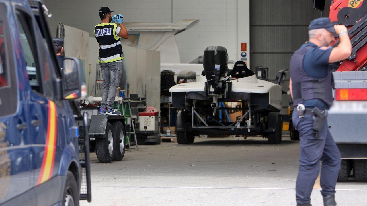 Redada de la Policía Nacional en el astillero Graünneren Tragove