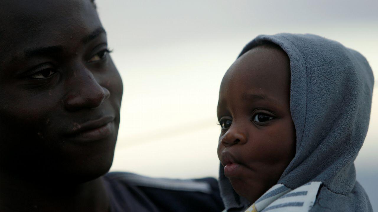 Nueva caravana de migrantes de Honduras a Estados Unidos.Dos de los migrantes rescatados en el Mediterráneo por un barco de una oenegé alemana