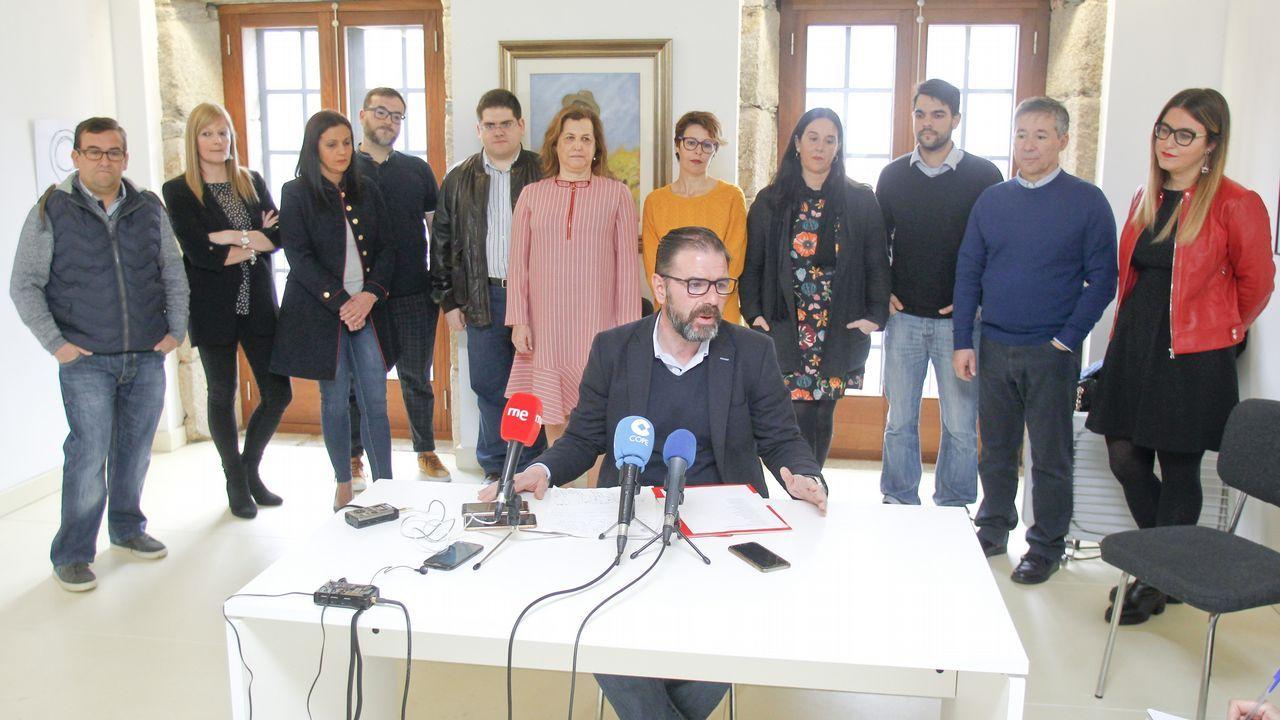 Oficina de empleo.La pensión media en Galicia se situó en enero en 833,31 euros
