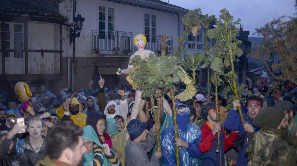 Baixada da Morena en Laza.