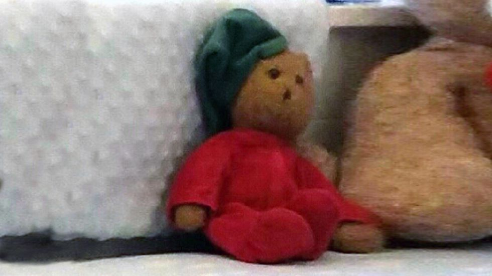 «Peluchín», el muñeco desaparecido