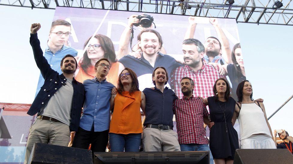 Jornada de reflexión familiar y deportiva para los candidatos antes del26J.Gaspar Llamazares