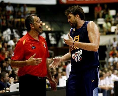 España se pase ante Alemania en Baloncesto