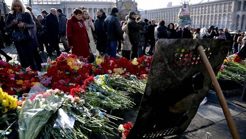 Castrillo de Matajudíos, a las urnas para cambiar el nombre.Homenaje a los muertos en las protestas de Kiev