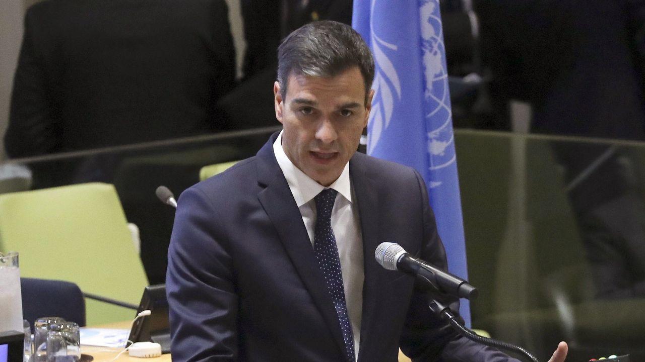 Pedro Sánchez descarta elecciones generales: «Voy a quedarme aquí hasta el 2020».