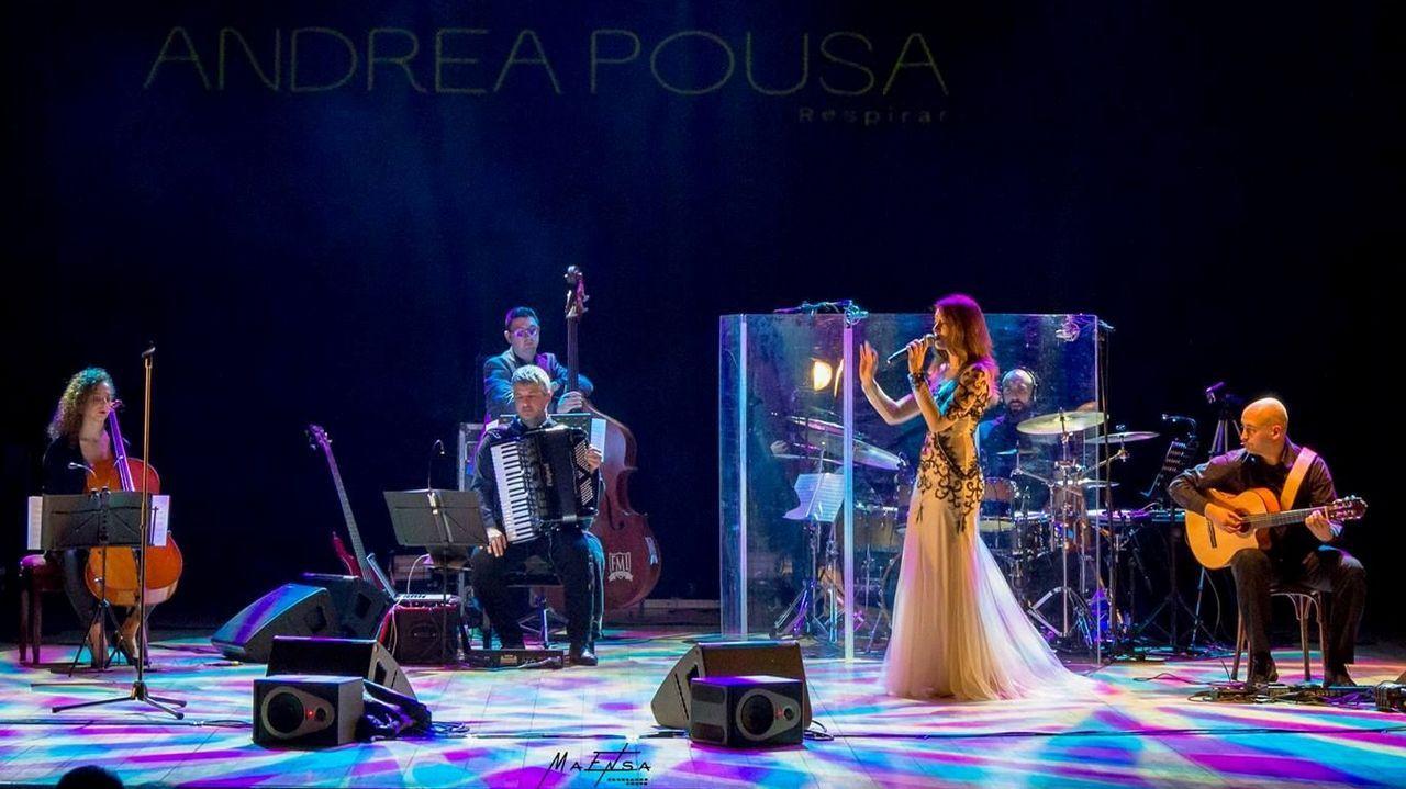 La París de Noia ofreció un concierto en favor de los niños enfermos del Clínico