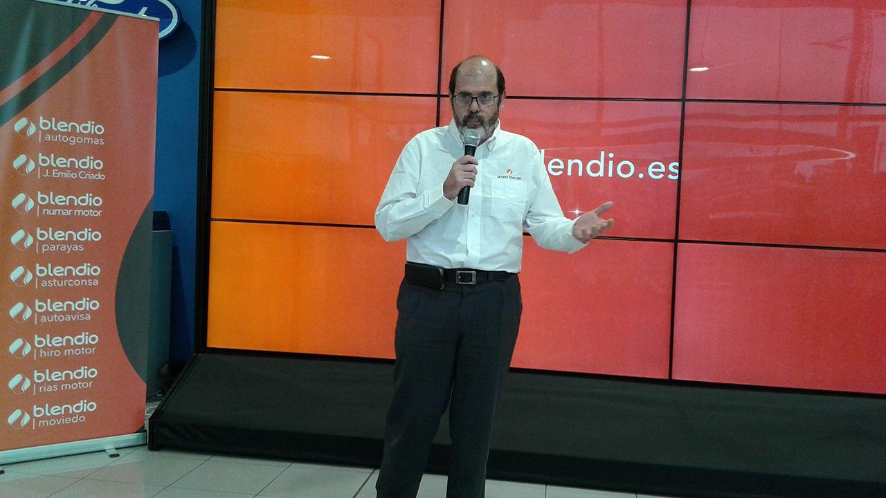 .Presentación del grupo Bendio en el concesionario Ford Autoavisa